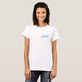 IADC Womens Cotton T-Shirt - White