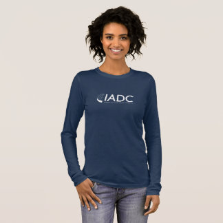 IADC Womens Long Sleeved T-Shirt - Navy