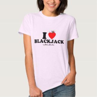 Iadies love blackjack tshirt