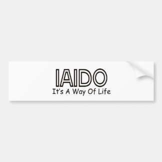 Iaido It's A Way Of Life Bumper Stickers