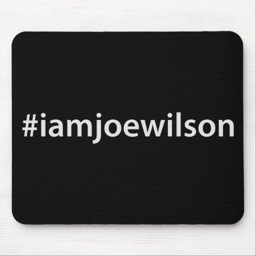 #iamjoewilson mouse pads