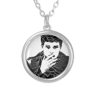 Ian Curtis Silver Plated Necklace