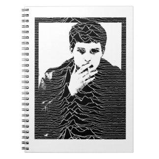 Ian Curtis Spiral Notebook
