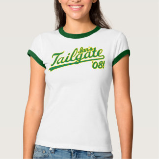 Ian's Tailgate '08! official baby doll shirt