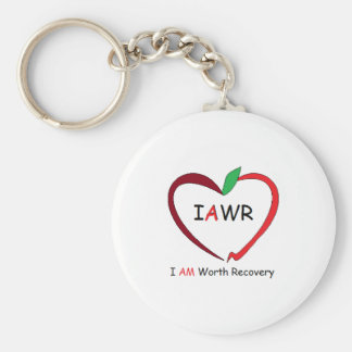 IAWR Apple Keychain