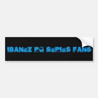 Ibanez RG Series Fan bumper sticker