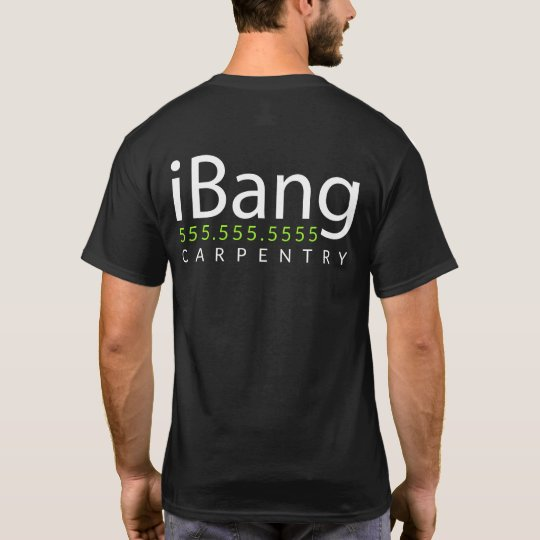 iBang. Carpenter Roofer Custom promotional merch T-Shirt