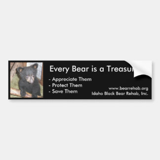 IBBR Bumper Sticker - Bear Cub