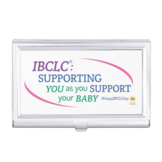 IBCLC® Day Business Card Holder (English)