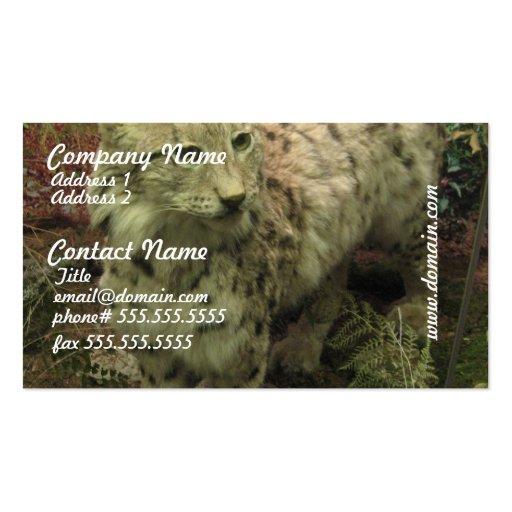 Iberian Lynx Business Cards