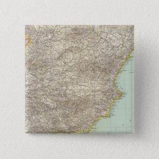 Iberian Peninsula 15 Cm Square Badge
