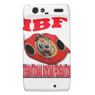 IBF Championship Boxing Belt Droid RAZR Cases