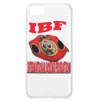 IBF Championship Boxing Belt iPhone 5C Cover