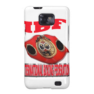 IBF Championship Boxing Belt Samsung Galaxy SII Cover