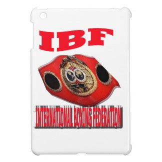 IBF Championship Boxing Belt iPad Mini Cover