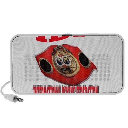 IBF Championship Boxing Belt iPhone Speaker