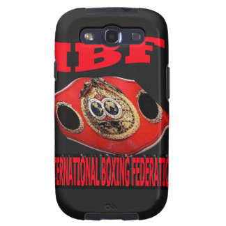 IBF Championship Boxing Belt With Background Samsung Galaxy S3 Cover
