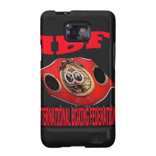 IBF Championship Boxing Belt With Background Samsung Galaxy SII Cases