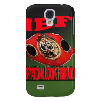 IBF Championship Boxing Belt With Etnic Background Galaxy S4 Case