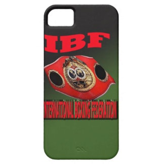 IBF Championship Boxing Belt With Etnic Background iPhone 5 Covers