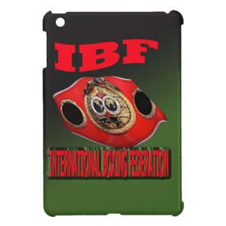 IBF Championship Boxing Belt With Etnic Background Cover For The iPad Mini