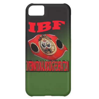 IBF Championship Boxing Belt With Etnic Background iPhone 5C Case