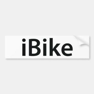 iBike bumper sticker