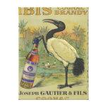 Ibis Cognac - Joseph Gautier & Fils Promo Canvas Print