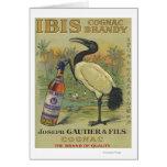 Ibis Cognac - Joseph Gautier & Fils Promo Card