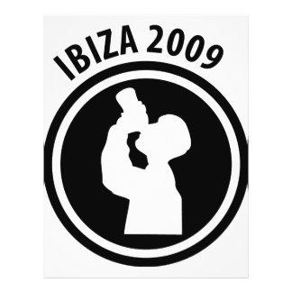 Ibiza 2009 drinker icon 21.5 cm x 28 cm flyer