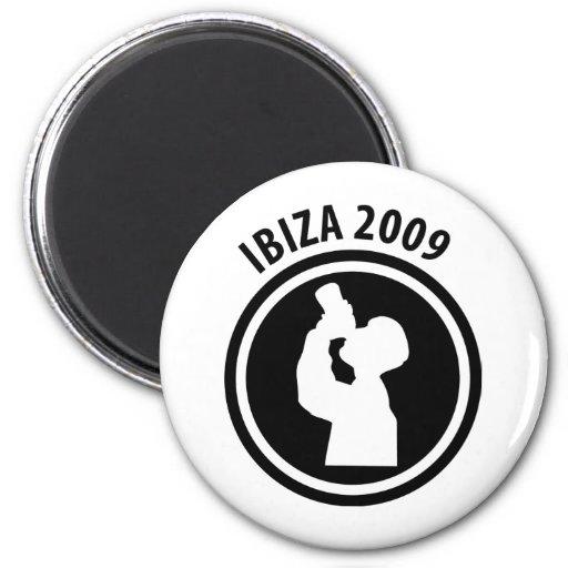 Ibiza 2009 drinker icon magnet