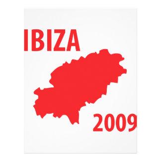 Ibiza 2009 icon 21.5 cm x 28 cm flyer