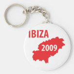 Ibiza 2009 symbol keychain