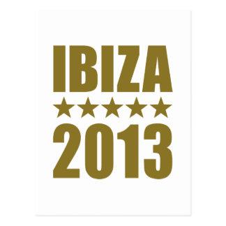 Ibiza 2013 postcard
