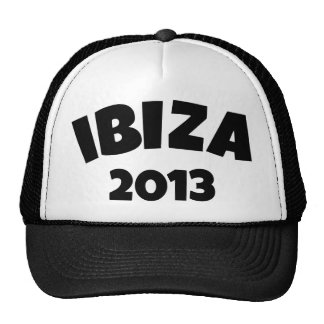 Ibiza 2013 trucker hats
