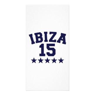 Ibiza 2015 personalised photo card