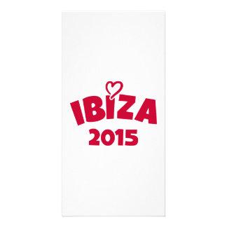 Ibiza 2015 photo card