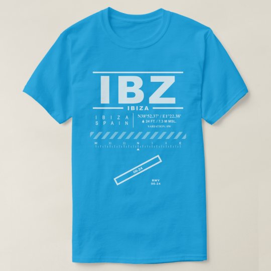 Ibiza Airport IBZ T-Shirt