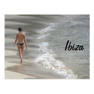 Ibiza Beach Postcard
