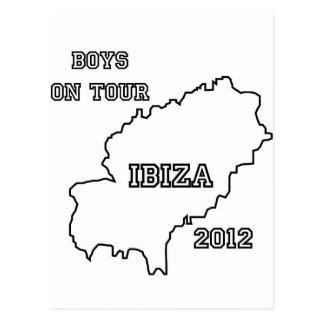 Ibiza - Boys on Tour 2012 Postcard