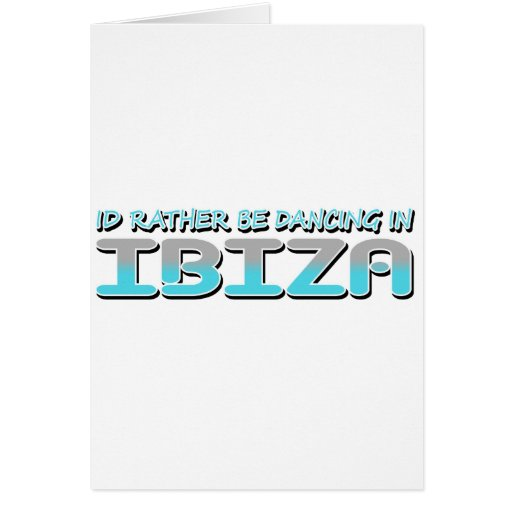 IBIZA GREETING CARDS