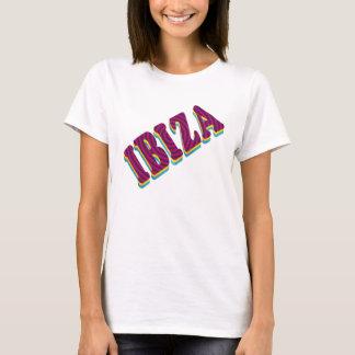 Ibiza Clubbing Typography Tee