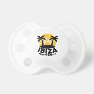 Ibiza Party Crew Pacifier