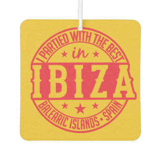 IBIZA Spain car air freshner Car Air Freshener