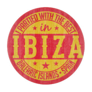 IBIZA Spain cutting board