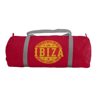 IBIZA Spain duffle bags