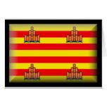 Ibiza Spain Flag Card