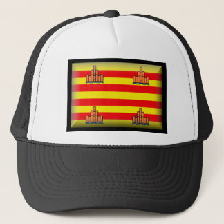 Ibiza Spain Flag Trucker Hat