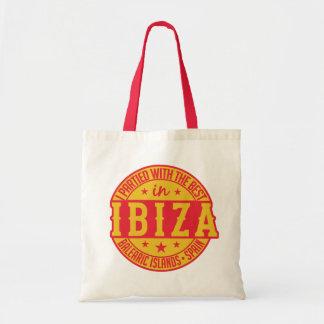 IBIZA Spain tote bags