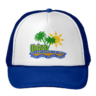 Ibiza State of Mind hat - choose color